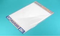 Tamiya 70125 Kunststoff-Platte 1,2mm (2) weiß 257x364