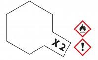 Tamiya 81002 X02 - Weiß glänzend 23 ml
