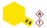 Tamiya 81008 X08 - Zitronen-Gelb glänzend 23 ml