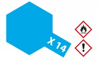 Tamiya 81014 X14 - Himmel-Blau glänzend 23 ml