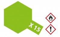 Tamiya 81015 X15 - Hell-Grün glänzend 23 ml