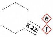 Tamiya 81022 X22 - Klarlack glänzend 23 ml