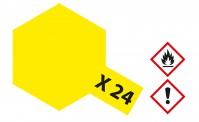 Tamiya 81024 X24 - Klar-Gelb glänzend 23 ml