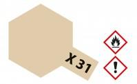 Tamiya 81031 X31 - Titanium-gold glänzend 23 ml