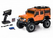 Carson 404171 1:8 Land Rover Defender 100% RTR orange