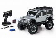 Carson 404172 1:8 Land Rover Defender 100% RTR silber