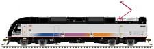 Atlas 40004043 NJT Hybridlok ALP-45DP Ep.6