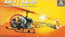 Italeri 00095 AH-1/AB-47  Light Helicopter