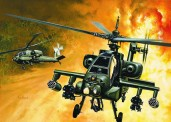 Italeri 00159 AH-64A Apache
