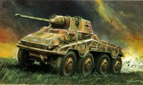 Italeri 00202 Sd.Kfz. 234/2 Panzerspähwag. 'Puma'