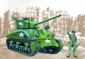 Italeri 00225 Sherman M4A1