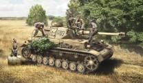 Italeri 06548 Pz.Kpfw.IV Ausf.F1/F2/G Early /rest crew