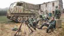 Italeri 06549 Steyr RSO/01 w/German soldiers and acces