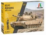 Italeri 06571 Abrams m. Crew (5)