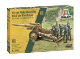 Italeri 07082 15cm Field Howitzer / 10,5cm Field Gun