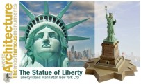 Italeri 68002 THE STATUE OF LIBERTY World Architecture
