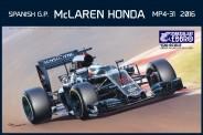 Ebbro 20018 McLaren Honda MP4-31 2016 #14