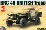 Ebbro 25018 BRC 40 British Troop