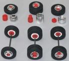 AWM 90033 Lkw Felgen chrom rot