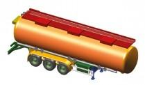 AWM 90634 Tank Auflieger Schrader