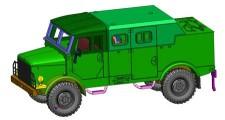 Armour87 111207071 Borgward B2000 A/O Funk/Führung BW