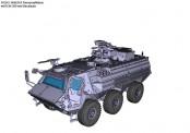 Armour87 211200521 FUCHS A8A3A1 Panzeraufklärer mit FLW-200