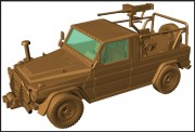 Armour87 224200311 M1511 IFAV mit M2HB Cal.50 MG