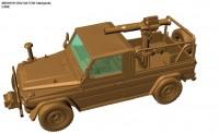 Armour87 224200331 M1511 IFAV mit TOW Startgerät, USMC