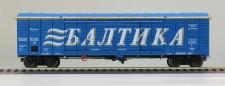 R-Land 10102 RZD BALTIKA gedeckter Güterwagen Ep.5/6