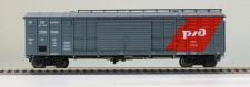 R-Land 10126 RZD gedeckter Güterwagen Ep.5/6