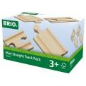 Brio 33393 1/4 Ausgleichschienen Mix