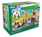 Brio 33427 Bus- und Zug-Bahnhof