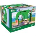 Brio 33649 Großer Hauptbahnhof mit Ticketautomat