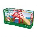 Brio 33699 Bahnbrücke mit Auffahrten
