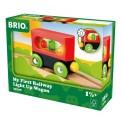 Brio 33708 Mein erster Brio Waggon mit Licht