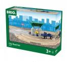 Brio 33747 Straßen Set mit Kreisverkehr