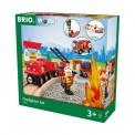 Brio 33815 Brio Bahn Feuerwehr Set
