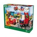 Brio 33817 Brio Bahn Großes Feuerwehr Deluxe Set