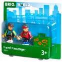 Brio 33823 Bahn Reisende mit Koffer