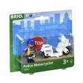 Brio 33861 Motorrad-Polizist