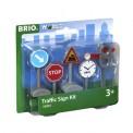 Brio 33864 Verkehrszeichen-Set