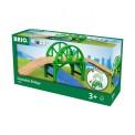 Brio 33885 Stapelbrücke mit Rampe