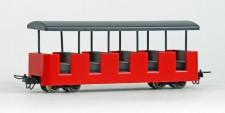 Minitrains 5196 Schlossgartenbahn Personnenwagen rot
