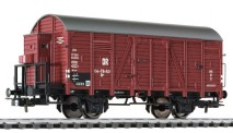 Liliput 235093 DR gedeckter Güterwagen 2-achs Ep.3