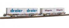 Liliput 235215 AAE Containerwagen-Set 2-tlg Ep.5