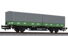 Liliput 235221 DB Containerwagen 2-achs Ep.4