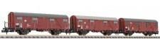 Liliput 260132 DB gedeckte Güterwagen-Set 3-tlg Ep.4