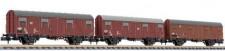 Liliput 260149 DB gedeckte Güterwagen-Set 3-tlg Ep.4