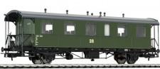 Liliput 334015 DR Personenwagen 2.Kl. 2-achs Ep.3