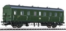 Liliput 334046 DR Personenwagen 2.Kl. 2-achs Ep.3